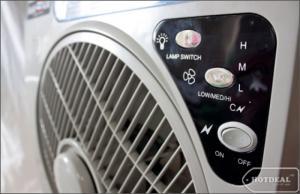 Quạt tích điện  panasonic 6969 có 2 bình ac quy bảo hành 6 tháng