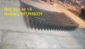 Lưới thép hàn đổ sàn bê tông D2, D2.5, D3, D4, D5, D6, D7,D8, D9,D10,D11,D14 , đặt hàng theo yêu cầu