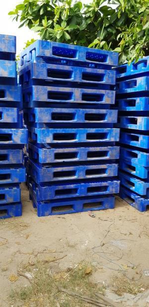 pallet nhựa xanh 1200x800x180mm