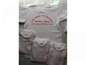 20 áo thun đồng phục cửa hàng sơn giá rẽ