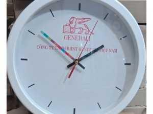 Sx đồng hồ treo tường màu trắng giá rẻ