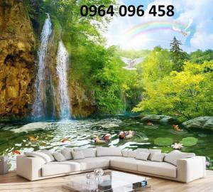 Gạch Tranh 3D Sơn Thủy L092
