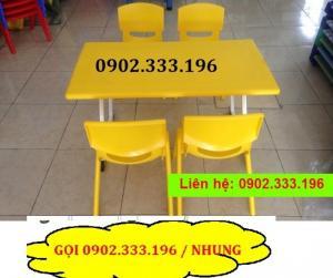 Ghế nhựa mầm non, ghế nhựa giá rẻ, ghế nhựa đúc trẻ em