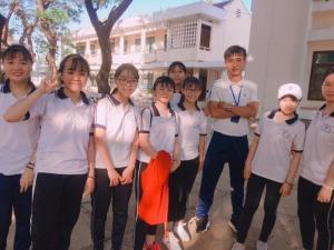xưởng may quần áo thể dục học sinh sinh viên