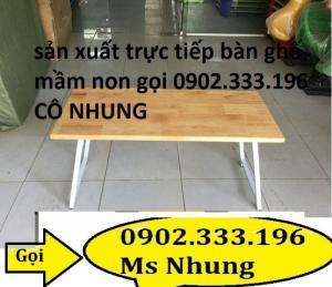 Cung cấp bàn gỗ giá rẻ, bàn gỗ mầm non, bàn ghế gỗ mẫu giáo