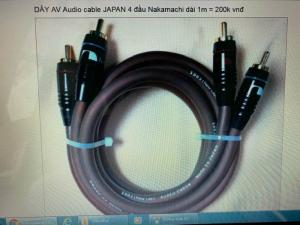 DÂY AV,Audio cable liton JAPAN,USA