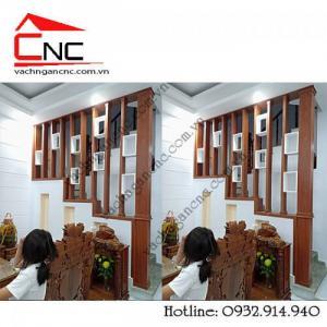 Lịch lãm, sang trọng-ưu điểm trang trí lam gỗ cnc cầu thang đẹp