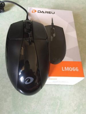 Mouse vi tính Dareu LM066 Gaming màu đenchính hãng