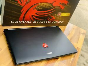 Laptop Gaming MSI GL62 7RD, i7 7700HQ 8G 1T Full HD GTX1050M Full Box Đẹp Keng zin 100% Giá rẻ