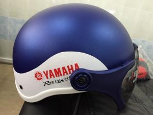 mũ bảo hiểm yamaha có kính sơn nhám cao cấp