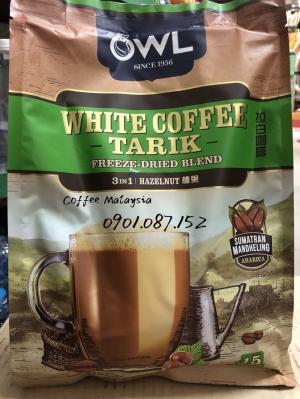 Cà phê trắng - OWL White Coffee vị hạt phỉ