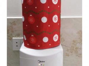 Đặt may túi trùm bình nước Merry Christmas