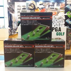 Thảm tập golf putter bằng gỗ nhập khẩu Hàn Quốc