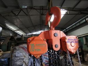 Pa lăng xích kéo tay Kawasaki 20 tấn 5 mét