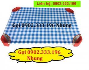 bán sỉ giường ngủ mẫu giáo, bán sỉ giường ngủ mầm non mới 100%