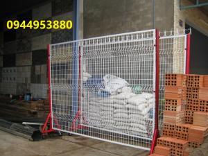 Hàng rào di động, hàng rào barie, hàng rào vách ngăn mạ kẽm nhúng nóng