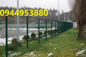 Nhận thiết kế thi công lắp đặt hàng rào mạ kẽm, hàng rào sơn tĩnh điện