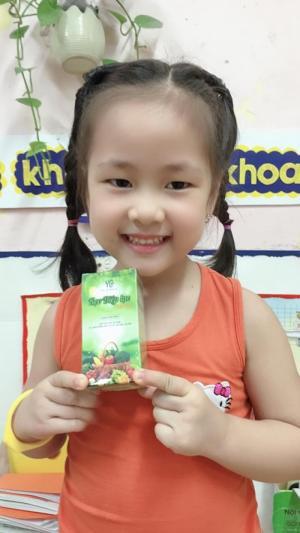 Kẹo Diệp Lục- bổ sung chất xơ, chống táo bón