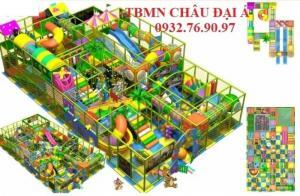 Thi công thiết kế khu vui chơi an toàn chất lượng cho bé