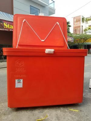 Thùng đá nhựa 300 lit hàng nhập Thai lan giữ lạnh tới 5 ngày
