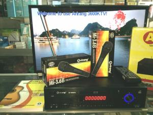 Đầu karaoke 5 số Arirang 3600KTV khuyến mãi 2 micro AR-3.6 chính hãng