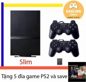 Máy game PS2 Playstation 2 Slim tặng 5 đĩa game và save