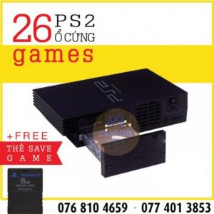 Máy game ps2 ổ cứng Fat và save ps2 - PS2 Hdd