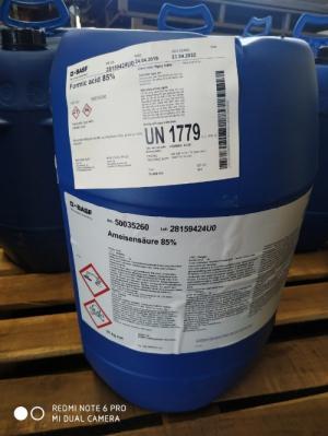Bán Acid Formic 85% BASF Đức giá cạnh tranh nhất