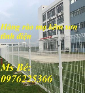 lưới hàng rào mạ kẽm sơn tĩnh điện D4, D5, D6