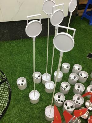 Bộ lỗ golf cột cờ nhựa 450k