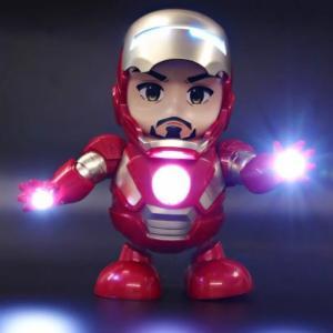 Siêu nhân iron man biết nhảy có đèn