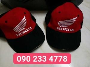 xưởng chuyên may nón kết Honda quảng cá