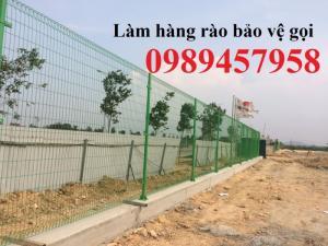 Hàng rào lưới thép - Hàng rào mạ kẽm - Hàng rào vườn