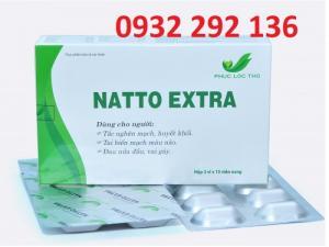 Natto Extra giúp giảm tắc nghẽn mạch, ngăn ngừa nguy cơ huyết khối