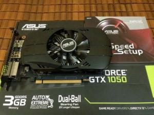 ASUS GTX 1050 3GB (2018) FullBox BH 11-2021.