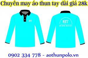 Áo thun tay dài giá chỉ 28k , xưởng may áo thun dài tay