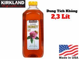 Mát phổi, chống ho - Mật Ong Mỹ Clover Honey Kirkland Nguyên Chất Tăng Khả Năng Miễn Dịch Cho Cơ Thể - MSN181123