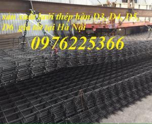 Lưới thép, lưới thép hàn D4, lưới thép hàn D5, D6