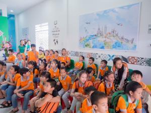 may đồng phục học sinh trung tâm ngoại ngữ giá từ 30k