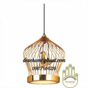 đèn lồng chim trang trí quán cà phê