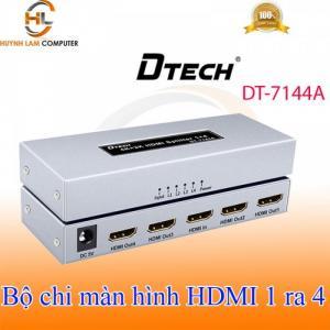 Chia HDMI 1 ra 4 DTECH DT-7144A hàng chính hãng giá rẻ