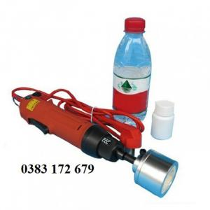 máy đóng nắp chai cầm tay,dụng cụ đóng nắp chai nhựa,máy đóng nắp lọ nhựa cầm tay,máy siết nắp chai sữa bắp SG1550
