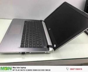 HP 15-AC146TU i3.5005U RAM 4GB HDD 500GB