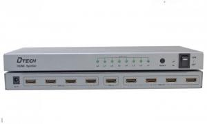 Chia HDMI 1 ra 8 DTECH DT-7148 hàng cao cấp