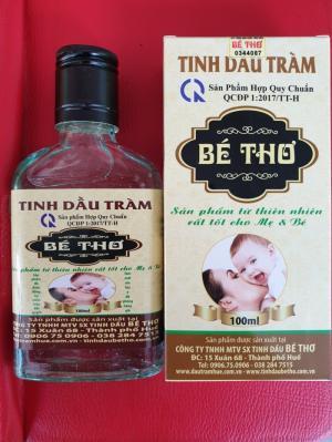 [Dầu tràm cho bé] Dầu tràm bé thơ nguyên chất loại 100ml sản phẩm được các mẹ bỉm sữa lựa chọn