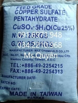 Mua bán phèn xanh, đồng sulphate, CuSO4 diệt ký sinh trùng, ốc hiệu quả