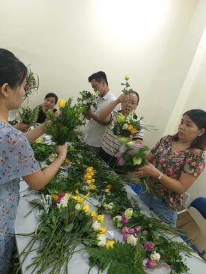 Khóa học cắm hoa mở shop tại Đà Nẵng