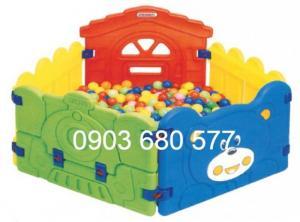 Nhà banh trong nhà trẻ em giá rẻ, chất lượng nhất