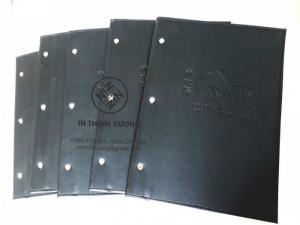 In menu bìa da tại In Thịnh Vương