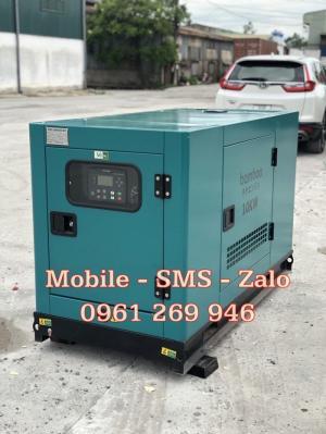Máy phát điện dự phòng chạy dầu diesel Bamboo BMB 10.1Euro công suất 10kw, vỏ chống ồn